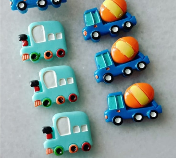 Toy Vehicles Pins