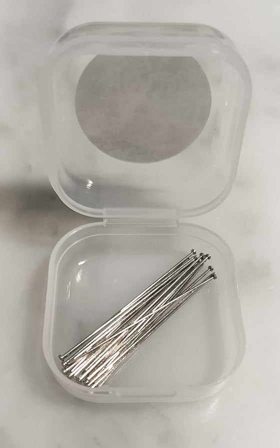 Invisible Head Pins