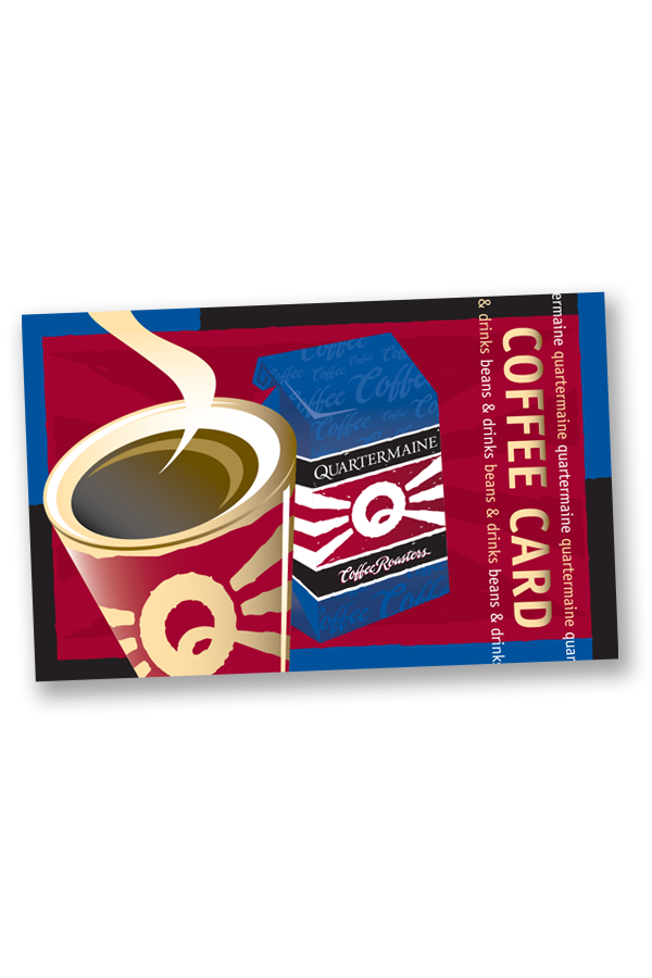 $25 Coffee Card