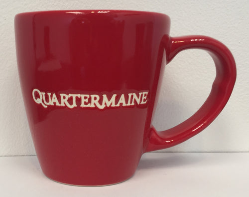 Quartermaine 12 oz Red Mug
