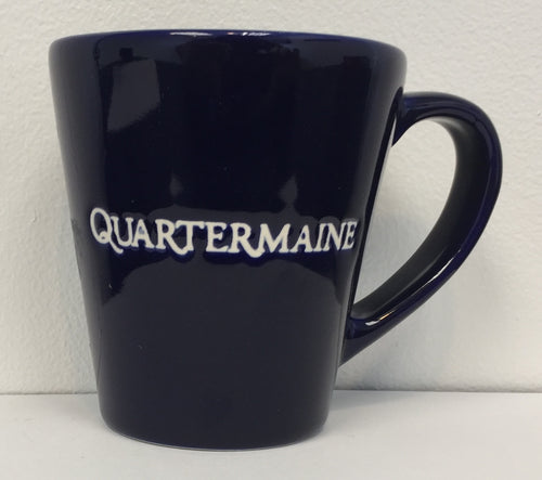 Quartermaine 9 oz Blue Mug