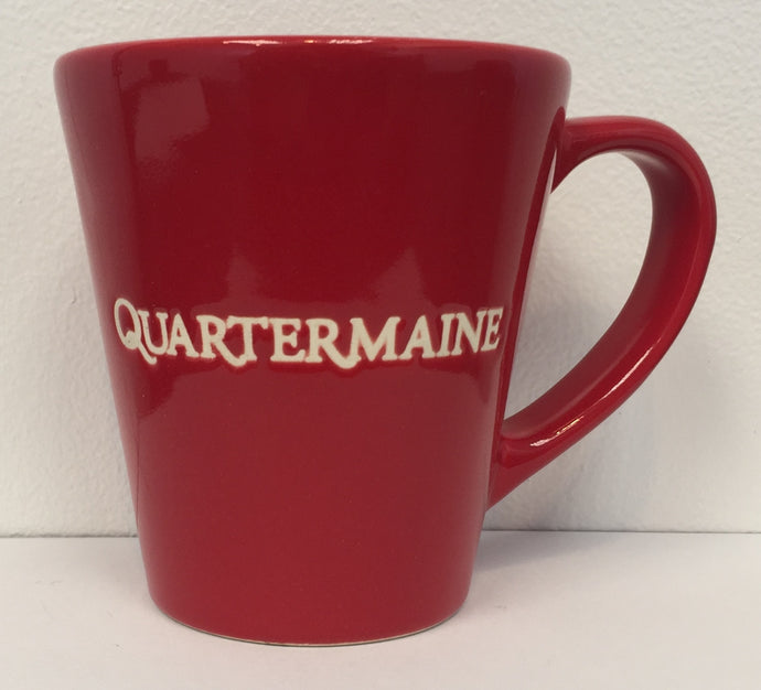 Quartermaine 9 oz Red Mug