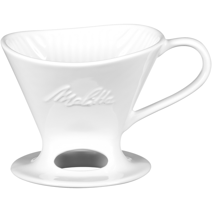 Melitta Pour Over Brew Cone - White Porcelain