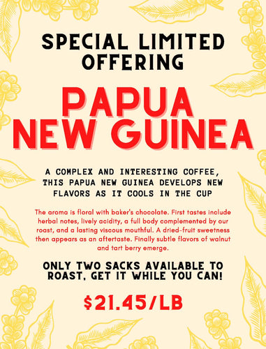 Special Offering Papua New Guinea