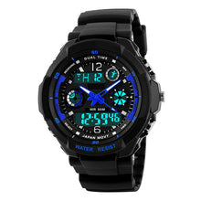 Blue Shark LED Digital Quartz Water Resistant Cycling Watch