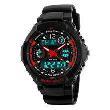 Lava LED Digital Quartz Water Resistant Cycling Watch