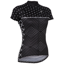 Black and White Short Sleeve Jersey