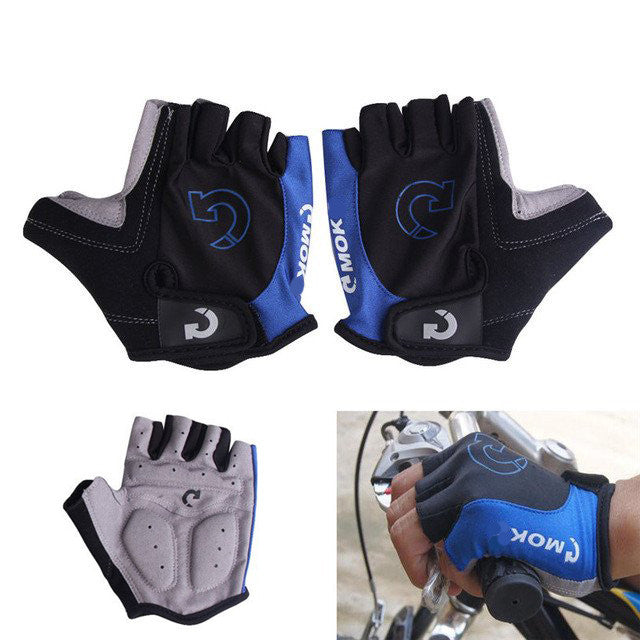 Half Finger Gel Pad Cycling Gloves
