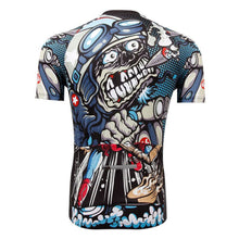 Cigar Cartoon Short Sleeve Jersey