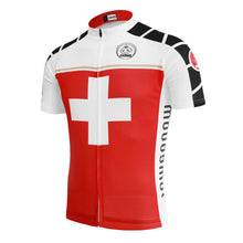 Switzerland Breathable Short Sleeve Jersey