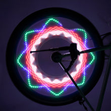 Neon Cycling Wheel Spoke Light