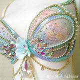 Opalescent Mermaid Bra