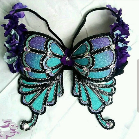 Floral Fantasy Butterfly