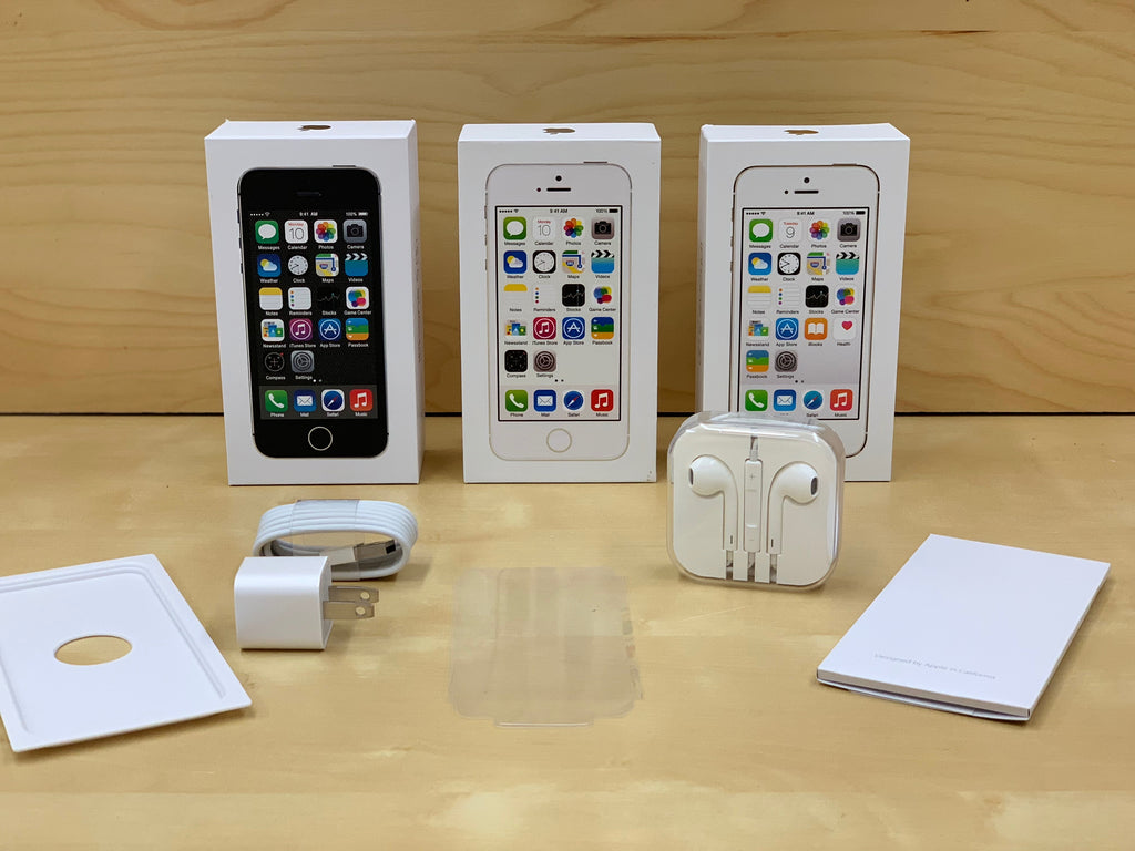 f6c9c461b Apple iPhone 5s Box and Accessories – Conekt Wireless