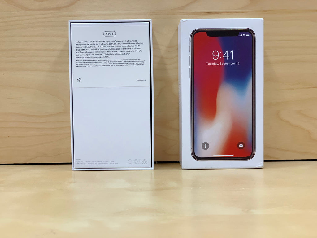 iPhone X Box and OEM Accessories
