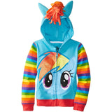 Unicorn Children's Hoodies & Girls Zip Hoodie