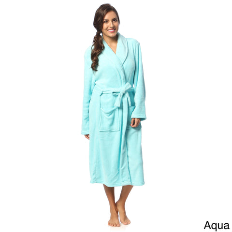 Women's Micro-Plush Bath Robe-*ON SALE NOW THRU JAN 1st-JAN 31st