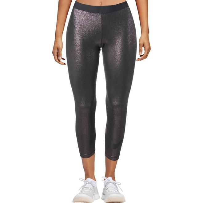 31a691c7ba90a4 Nike Pro Womens Metallic Fitness Athletic Leggings – Kamille and Co.