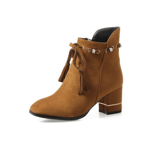Ankle Boots High Heels