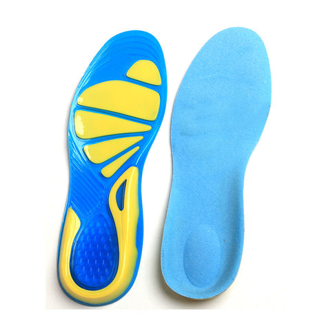 Sport Insoles Shock Absorption Pads Running Sport Shoes Inserts Breathable Insoles Foot Health Care For Men And Women