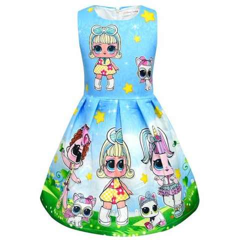 ON SALE NOW ONLY $40.99! L.O.L. Surprise Doll Dress/Girls Birthday/#Girls Birthday Party Dress