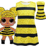 LOL Surprise Dolls Tutu Dress For Girls