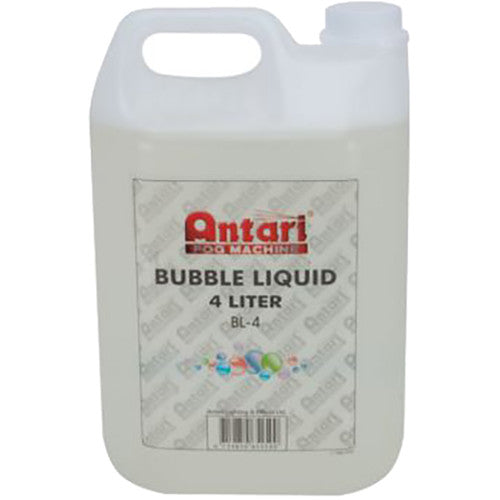 Antari BL-4 - ANTARI BUBBLE FLUID - 4L BOTTLE - LOW LYING FOG FLUID - Guaranteed lowest prices! Call LED @ (407)269-9607