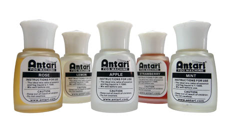 Antari Essence Fog Liquid Scents - Guaranteed lowest prices! Call LED @ (407)269-9607