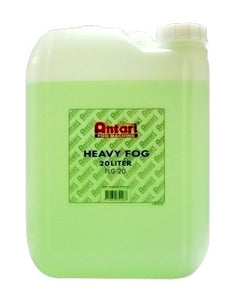 Antari FLG-20 - 20L BOTTLE - HEAVY FOG FLUID - Guaranteed lowest prices! Call LED @ (407)269-9607