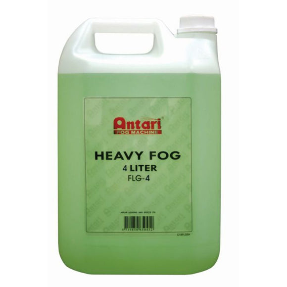 Antari FLG-4 - 4L BOTTLE - HEAVY FOG FLUID - Guaranteed lowest prices! Call LED @ (407)269-9607