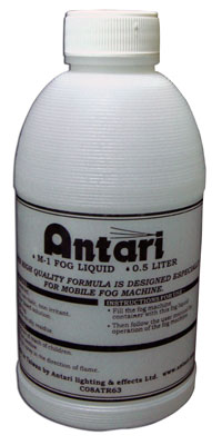 Antari FLM-05 - .05L BOTTLE FLUID FOR M-1 & FT-20 - Guaranteed lowest prices! Call LED @ (407)269-9607