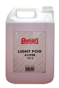 Antari FLR-4 - 4L BOTTLE - LIGHT FOG FLUID - Guaranteed lowest prices! Call LED @ (407)269-9607