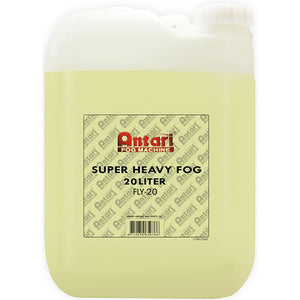 Antari FLY-20 - 20L BOTTLE - SUPER HEAVY FOG FLUID - Guaranteed lowest prices! Call LED @ (407)269-9607