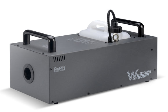 Antari W-515D - 1500 watt high-efficient fog machine w/built-in wireless remote & W-DMX - Guaranteed lowest prices! Call LED @ (407)269-9607