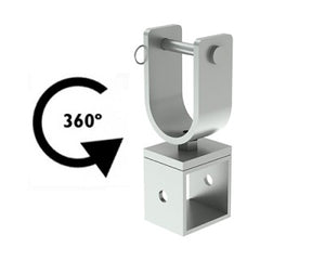 Fenix Stage AC-552B - Rotating mount for truss - Guaranteed lowest prices! Call LED @ (407)269-9607