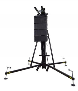 Fenix Stage HERCULES 6.5 PLUS - Aluminum frontal loading tower - Guaranteed lowest prices! Call LED @ (407)269-9607