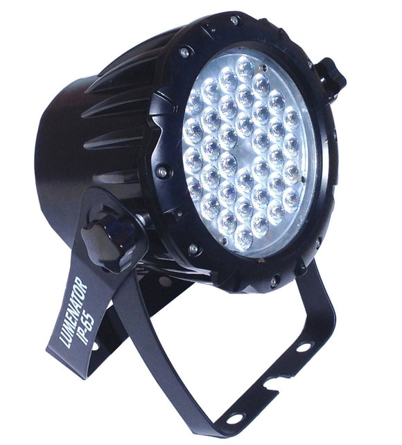 Meteor Light and Sound - LED-LUM-IP65P - LUMENATOR OUTDOOR LED WASH - RGB - 36 - 3W LEDS