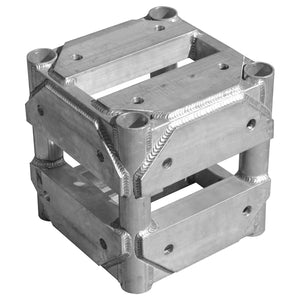 "Show Solutions - SP1201 - 4-way corner block for 12"" x 12"" square trussing - Guaranteed lowest prices! Call LED @ (407)269-9607"