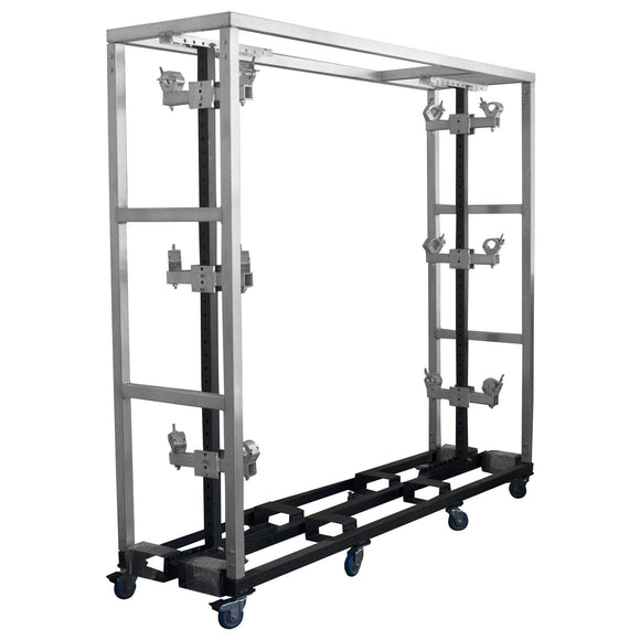Show Solutions LBRR - LAMP BAR ROLLING RACK - Guaranteed lowest prices! Call LED @ (407)269-9607