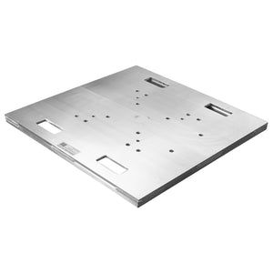 "Show Solutions PBH1200 - 30"" x 30"" x 1-3/8"" heavy-duty aluminum base plate - Guaranteed lowest prices! Call LED @ (407)269-9607"