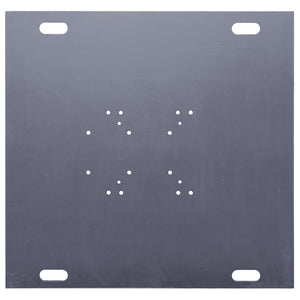 "Show Solutions PBH1248S - 48"" x 48"" x 1-3/8"" heavy-duty steel base plate - Guaranteed lowest prices! Call LED @ (407)269-9607"