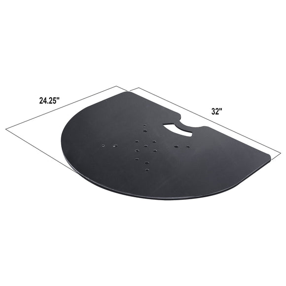 Show Solutions PBHW24RSB - Pro Flush Wall Steel Base Plate - Guaranteed lowest prices! Call LED @ (407)269-9607