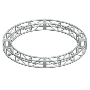 "Show Solutions SP12C208 - 12"" x 12"" Box Truss Circle - 20' diameter 12"" box truss - 8 sections OD dims - Guaranteed lowest prices! Call LED @ (407)269-9607"