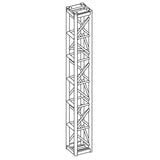 "Show Solutions SPTT1210 - 12"" x 12"" Tower Truss - 10' tall, 12"" wide PRO Tower - Guaranteed lowest prices! Call LED @ (407)269-9607"