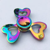 Rainbow Metal Fidget Spinner Colorful New Designs Hot Gift
