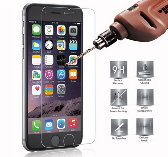 3D Premium Tempered Glass Screen Protector For Apple iPhone 6 7