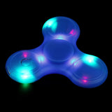 Bluetooth LED Spinner with Power Button Desk Toy EDC ADHD Autism Kids