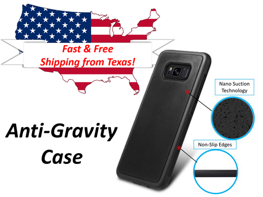 Anti-Gravity Case Nano Suction Selfie Cover Note 9 Note 8 S8 S9 Goat Suction