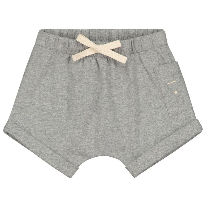 Grey One Pocket Short