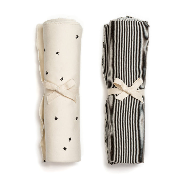 Organic Blanket Swaddle Set